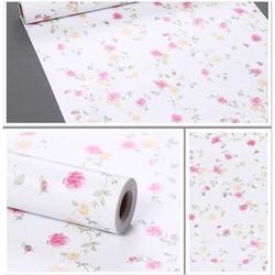 5m Decal giấy dán tường hoa hồng 000
