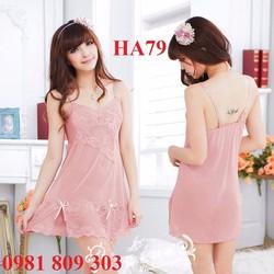 Váy ngủ cao cấp HA79