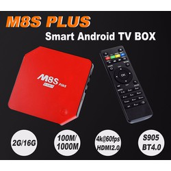 android smart tivi box enybox m8s đen