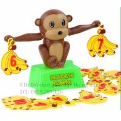 Khỉ con học toán đồ chơi giáo dục thông minh