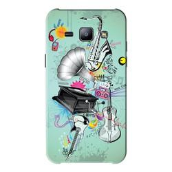 Ốp lưng điện thoại Samsung-Galaxy J2 - Music