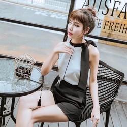 Sét áo yếm dây + quần short
