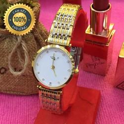 Đồng hồ nữ cao cấp nhập khẩu mặt đính đá sang trọng