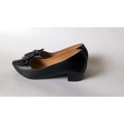 Giày nữ thời trang đẹp giá rẻ - kiểu dáng mới nhất - NGL-5DE - Đen