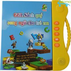 Sách nói điện tử song ngữ Anh-Việt đọc hát kể chuyện GGL-SN