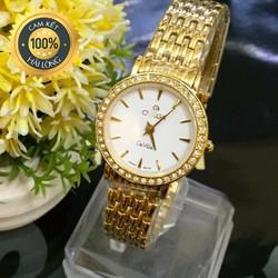 Đồng hồ nữ đẹp cao cấp viền đá sang trọng