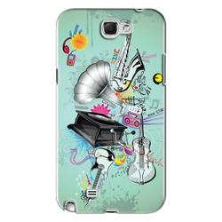 Ốp lưng điện thoại Samsung-Galaxy Note 2 - Music