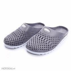Giày đi mưa hở gót chồng trơn trượt cao