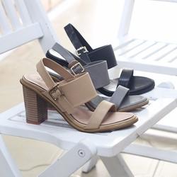 Giày sandal cao gót 7 phân ANA Le thanh lý