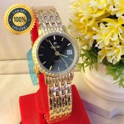 Đồng hồ nữ cao cấp viền đá chống xước chống nước tốt