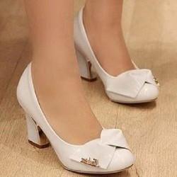 giày búp bê nơ