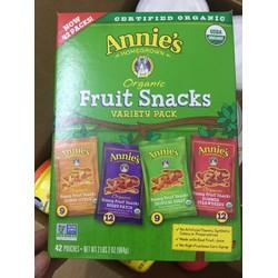 Kẹo Fruit Snacks Annies Hộp 48 Gói