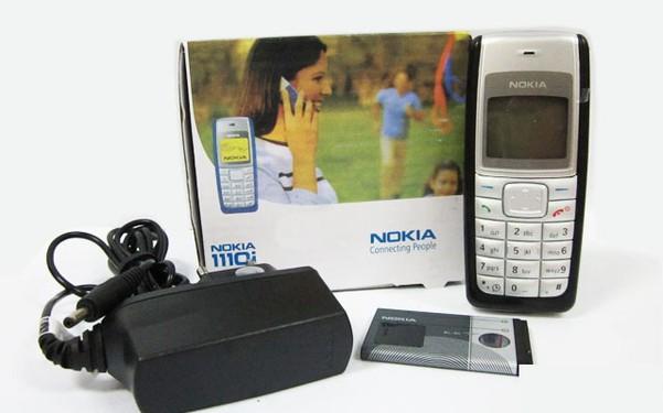 Điện thoại no kia 1110 main zin hàng chính hãng 4