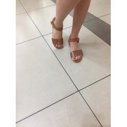 Sandal quai ngang êm chân