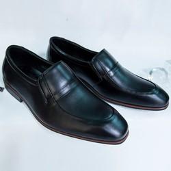 Giày Tây Nam Oxford Đen da bò kiểu trơn giá tốt
