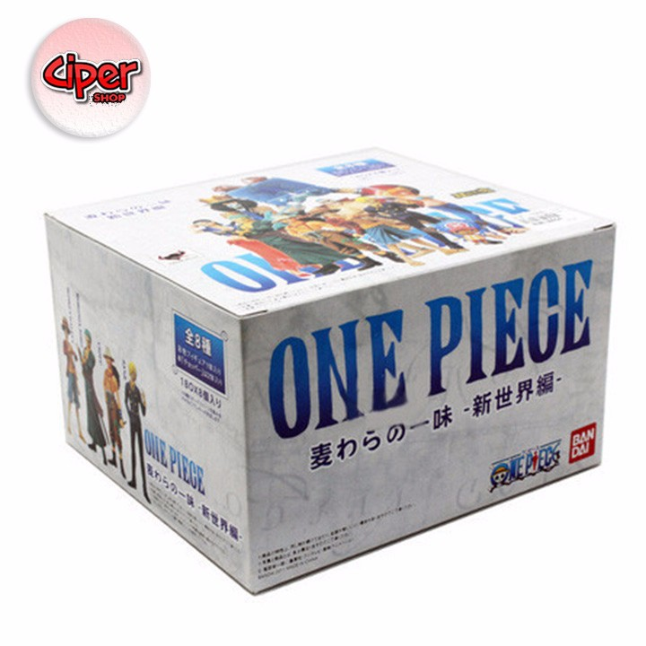 Mô hình team Luffy Mũ Rơm Mô hình One Piece 3