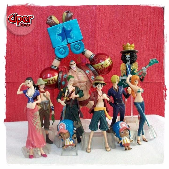 Mô hình team Luffy Mũ Rơm Mô hình One Piece 7