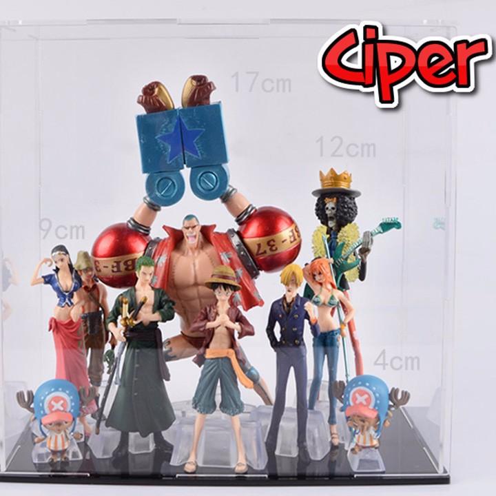 Mô hình team Luffy Mũ Rơm Mô hình One Piece 6