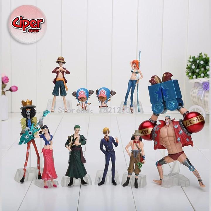 Mô hình team Luffy Mũ Rơm Mô hình One Piece 2