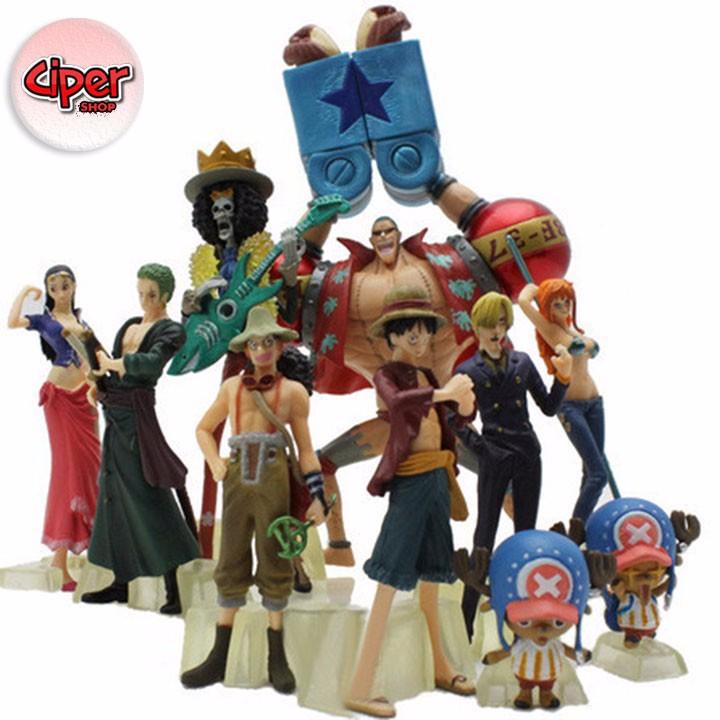 Mô hình team Luffy Mũ Rơm Mô hình One Piece 5