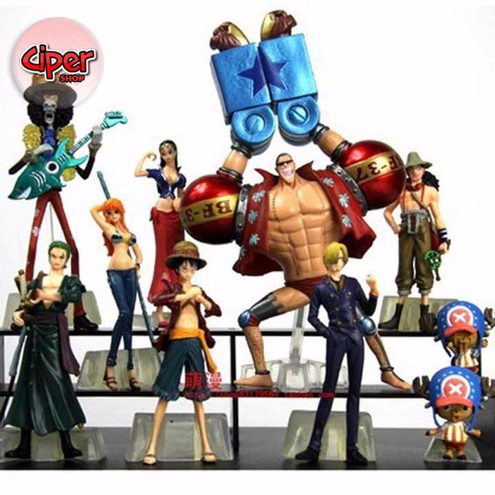 Mô hình team Luffy Mũ Rơm Mô hình One Piece 4