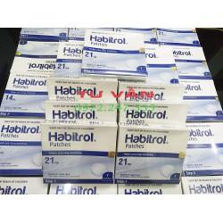 Miếng dán cai thuốc-lá Habitrol 21mg