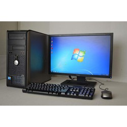 Gaming Dell Optilex 780 Q9400 4*2.66  4G  250G Vga GT630 LCD 22in