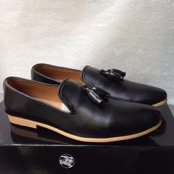 Giày tây nam Di_or kiểu nơ chuông đế vàng độc lạ giá rẻ