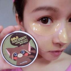 Mặt nạ mắt Gold Racoony Hydro Gel Spot Patch từ Secret Key Korea