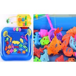 Bể câu cá đồ chơi 2 cần bằng nhựa