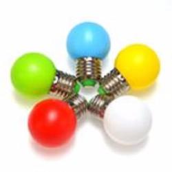 Com bo 10 Bóng led 1w - màu sắc tùy chọn