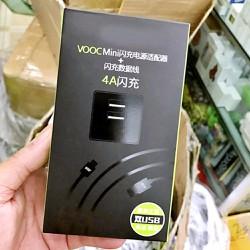 Bộ Sạc O P P O B7 4A 2 Cổng USB - Bảo Hành 3 Tháng