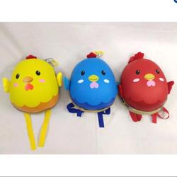 Balo trứng cho bé trai hình con gà