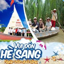 Tour du lịch hè miền Tây Tiền Giang - Cần Thơ...