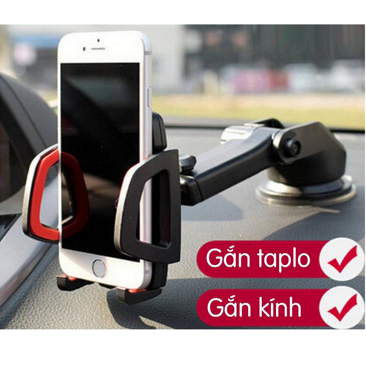 FREESHIP - Giá treo - đỡ - kẹp điện thoại ô tô gắn táp lô loại tốt 2