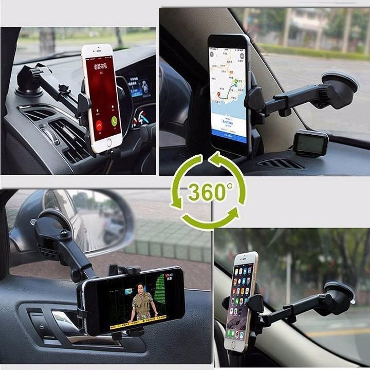 FREESHIP - Giá treo - đỡ - kẹp điện thoại ô tô gắn táp lô loại tốt 1