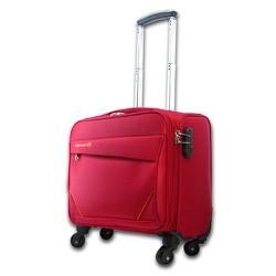 Vali du lịch vải bố 4 bánh xe kiểu vuông xách tay nhỏ gọn TL036