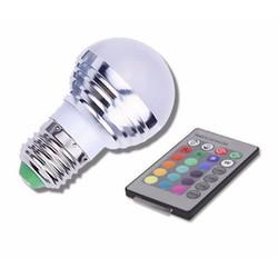 Đèn LED Đổi Màu Có Điều Khiển Từ Xa RGBLED-3