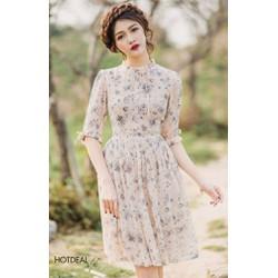Đầm Hoa Tiểu Thư Nana Siêu Hot