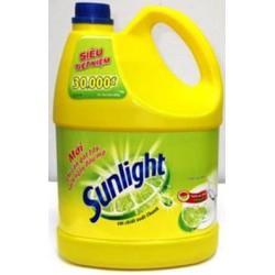 Nước rửa chén Sunlight hương chanh 3,8kg