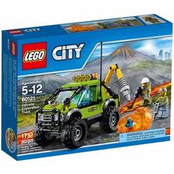 Xếp hình Lego City xe núi lửa 60121