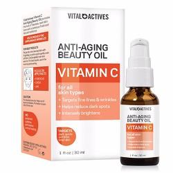 Dưỡng da Vital Actives Anti-Aging Beauty Oil Vitamin C, 30ml