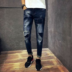 quần jean rách cực ngầu