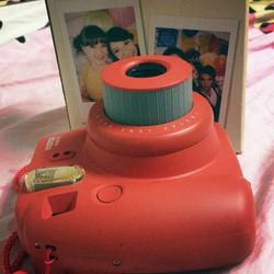 Instax mini 8 gồm máy ảnh dây 2pin không kèm theo film