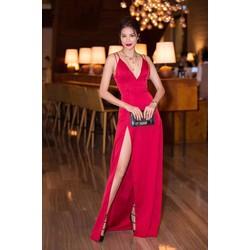 Đầm dạ hội xẻ đùi D940