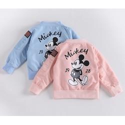 áo khoác hình chuột mickey