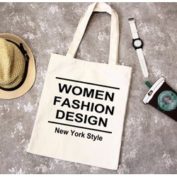 Túi Vải Tote Họa Tiết Women Fashion Xinh Store