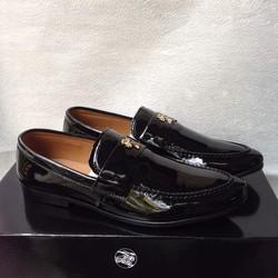 Giày tây nam hàn quốc kiểu bóng khóa ngang giá ưu đãi