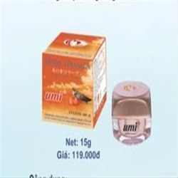 Kem Trắng Da Ngăn Ngừa Lão Hóa Yến đỏ Collagen UMI - 15g