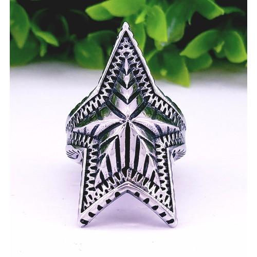 Nhẫn inox nam ngôi sao - 4305164 , 5819451 , 15_5819451 , 145000 , Nhan-inox-nam-ngoi-sao-15_5819451 , sendo.vn , Nhẫn inox nam ngôi sao